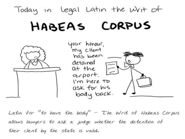 Habeas Corpus - Arnav Mathur