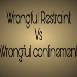 Wrongful Restraint