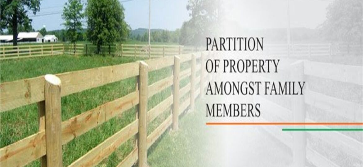 Partition of Property under Hindu law - Mahalaxmi Agrawal