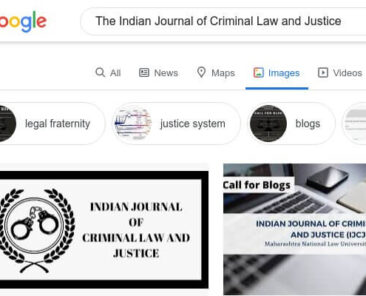 Indian Journal of Criminal Law and Justice